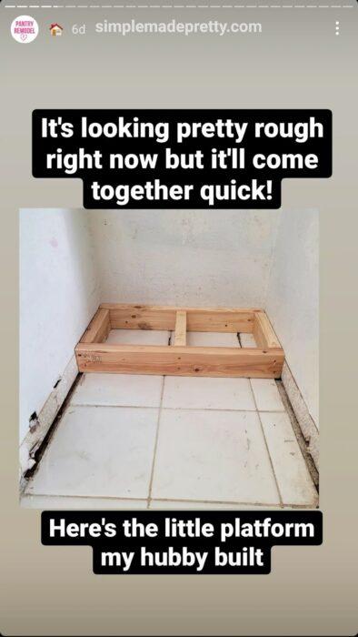 Pantry Remodel Ideas Floor