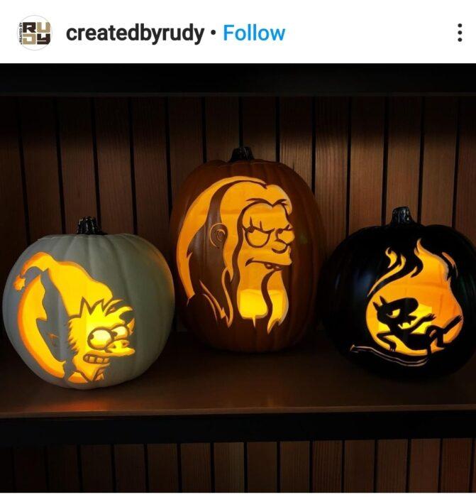 Disenchantment Halloween Pumpkin Carving